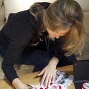 Cassie Jaye signing DVD